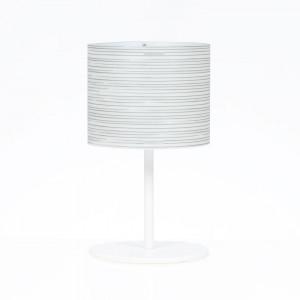 Emporium - Rigatone - Rigatone TL M - Tischlampe mit rundes Lampenschrim