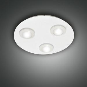 Fabas Luce - Swan - Swan PL 3 S round - Deckenleuchte mit 3 Lichtpunkte