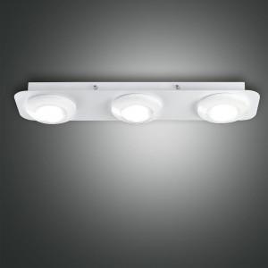 Fabas Luce - Swan - Swan PL 3 S square - LED Deckenleuchte mit 3 Lichtpunkte