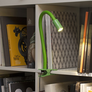 Faro - Indoor - Studio - Nuka TL LED clip - LED-Tischleuchte mit Clip-Anwendung