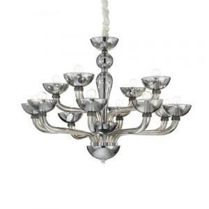 Ideal Lux - Casanova - Casanova SP12 - Leuchter aus handgearbeitetem Glas