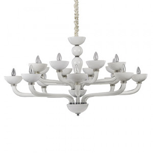Ideal Lux - Casanova - Casanova SP16 - Lampe aus handgearbeitetem Glas