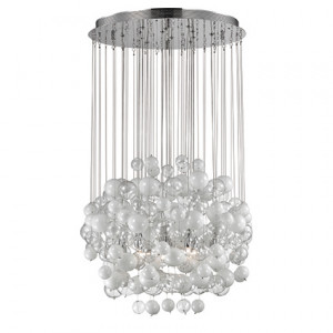 Ideal Lux - Majestic Waterfall - Bollicine SP14 - Leuchter mit Glasblasen