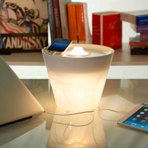 Rotaliana - MultiPot+ - MultiPot+ weißer - weißer Beleuchtung-Vase
