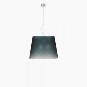 Emporium - Boemia - Boemia SP L - Suspension lamp with diamond-effect lampshade
