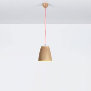 Emporium - Grog - Grog SP M - Suspension lamp made of Legnolene