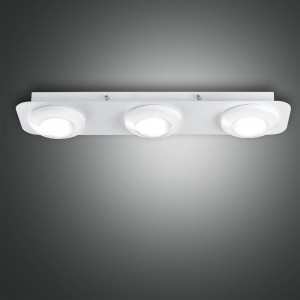 Fabas Luce - Swan - Swan PL 3 S square - 3 LED lights ceiling lamp