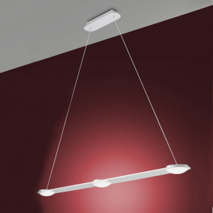 Fabas Luce - Swan - Swan SP - 3 LED lights suspension