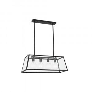 Faro - Indoor - Rustic - Rose SP - Rustic suspension lamp with 4 lights