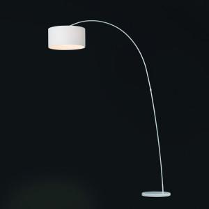 Faro - Indoor - Volta - Papua PT - Floor lamp with fabric diffuser