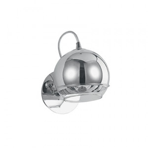 Ideal Lux - Discovery - Discovery AP1 - Chrome applique with glass diffuser