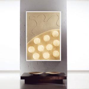 In-es.artdesign - Lunar - Ten moons - Bright painting