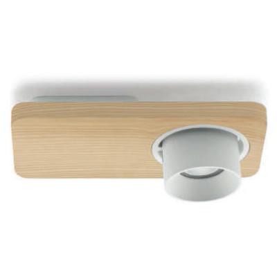 Linea Light - Applique - Beebo PL - Designer lamp - Natural oak -  - Warm white - 3000 K