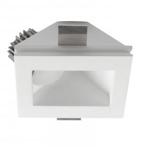 Traddel - Indoor recessed spotlights - Gypsum QCY AP LED - Recessed LED ceiling lamp in Gypsum