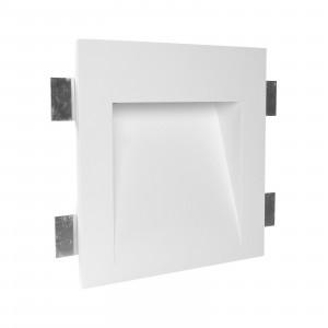 Traddel - Indoor recessed spotlights - Gypsum Wf4 FA LED - LED recessed spotlight in Gypsum