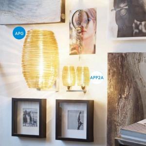 Vistosi - Damasco - Damasco AP - Modern wall lamp L