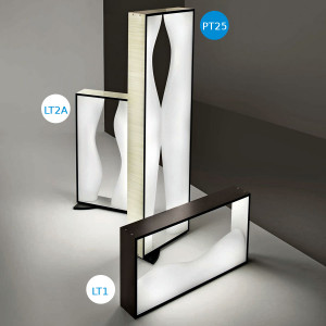 Vistosi - Tablò - Tablò PT2S - Designer floor lamp
