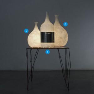 In-es.artdesign - Luce Liquida - Luce Liquida 3 - Lampe de table