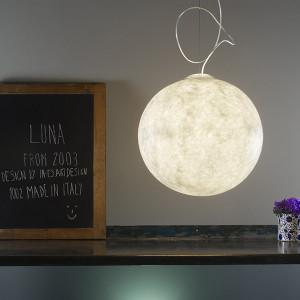 In-es.artdesign - Luna - Luna 3 - Lampe à suspension