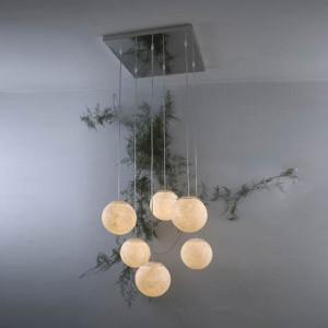 In-es.artdesign - Lune - Sei Lune - Lampe à suspension