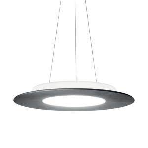 Ma&De - Square LED - Square PR SP M LED - Lampe suspendue design en forme ronde à double émission de lumière LED