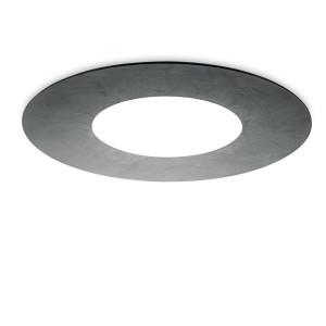 Ma&De - Square LED - Square SR PL M LED - Plafonnier rond design à double émission lumineuse LED