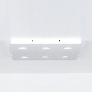 Emporium - Domino - Domino PL 6 - Lampada da soffitto a sei luci