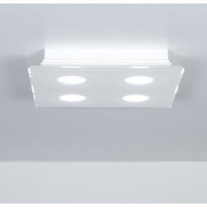 Emporium - Domino - Domino PLQ 4 - Plafoniera quadrata a quattro luci