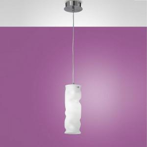 Fabas Luce - Melt - Melt SP S - Sospensione in metallo e vetro soffiato