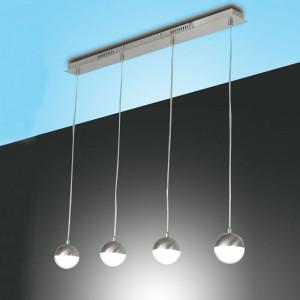Fabas Luce - Melville - Melville SP L - Sospensione a 4 luci