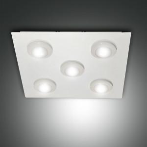 Fabas Luce - Swan - Swan PL 5 M - Plafoniera a 5 luci