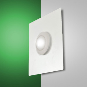 Fabas Luce - Swan - Swan Square AP PL S - Lampada LED da parete o soffitto