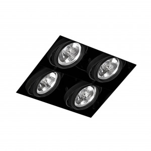 Faro - Indoor - Gingko - Gingko S 4L WF - Faretto da incasso senza cornice a 4 luci