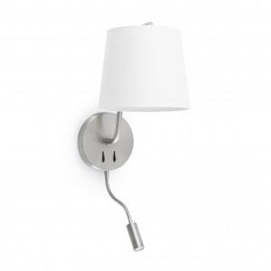 Faro - Indoor - Hotelerie - Berni AP R - Lampada a parete con luce per lettura