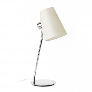 Faro - Indoor - Hotelerie - Lupe TL - Lume da tavolo con paralume in tessuto