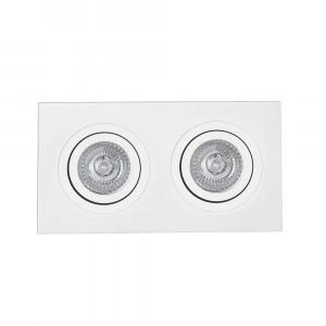 Faro - Indoor - Incasso - Radon FA 2L - Faretto da incasso a soffitto e parete con due luci
