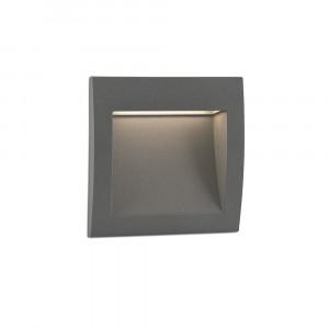 Faro - Outdoor - Sedna - Sedna 1 FA LED - Faretto segnapasso a incasso LED quadrato piccolo