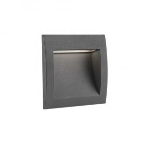 Faro - Outdoor - Sedna - Sedna 3 FA LED - Faro segnapasso a incasso LED quadrato medio