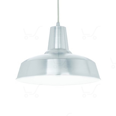 Ideal Lux - Bright - Moby SP1 - Lampada a sospensione in metallo - Alluminio - LS-IL-102054