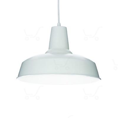 Ideal Lux - Bright - Moby SP1 - Lampada a sospensione in metallo - Bianco - LS-IL-102047
