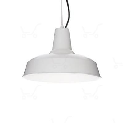 Ideal Lux - Bright - Moby SP1 - Lampada a sospensione in metallo - Gesso - LS-IL-134352