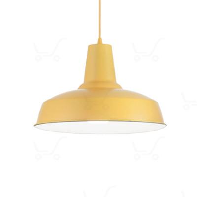 Ideal Lux - Bright - Moby SP1 - Lampada a sospensione in metallo - Giallo - LS-IL-160818
