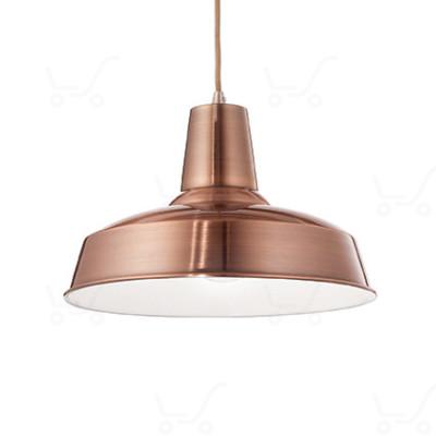Ideal Lux - Bright - Moby SP1 - Lampada a sospensione in metallo - Rame - LS-IL-093697