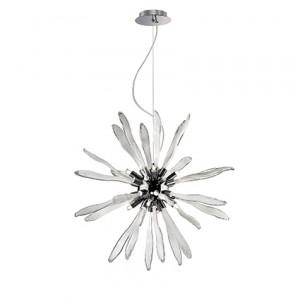 Ideal Lux - Corallo - Corallo SP8 - Lampadario in vetro a forma di corallo