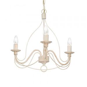 Ideal Lux - Corte - Corte SP3 - Lampadario antichizzato da tre luci