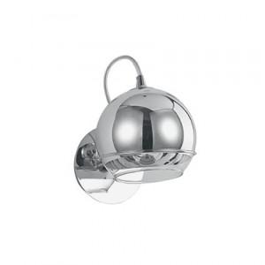 Ideal Lux - Discovery - Discovery AP1 - Applique in cromo con diffusore in vetro