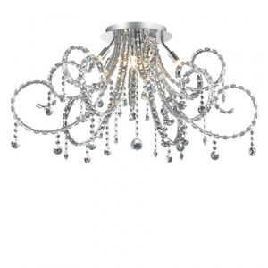 Ideal Lux - Fiore - Fiore PL10 - Elegante lampadario con cristalli