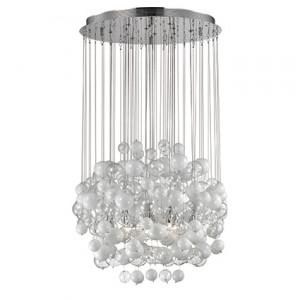 Ideal Lux - Majestic Waterfall - Bollicine SP14 - Lampadario con bolle di vetro
