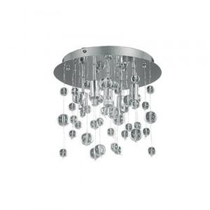 Ideal Lux - Neve - Neve PL5 - Lampada da soffitto a 5 luci con sfere in vetro