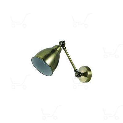 Ideal Lux - Newton - Newton AP1 - Applique con diffusore orientabile in metallo - Brunito - LS-IL-027876